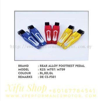 REAR FOOTREST ACCESSORIES ALLOY R25/R3 MT07 MT09 CS-FS01
