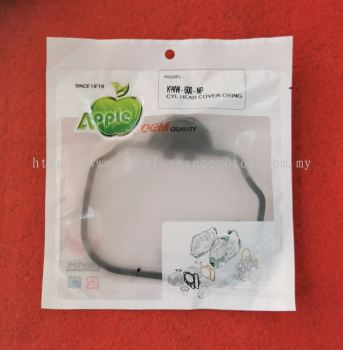 CAM COVER O-RING/GASKET, CYCLINDER HEAD COVER WAVE110, EX5 DREAM 110 FI, WAVE ALPHA 12391-KWW-600-NP LEEGEE