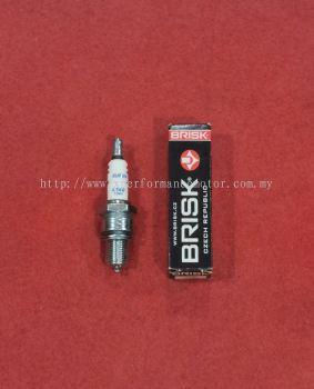 SPARK PLUG BRISK 100%ORIGINAL RXZ135, KR150, TXR150.. L14C-1344 CJE