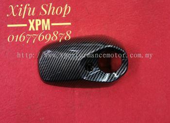 EXHAUST CAP XMAX 300 CARBON CS-EXC01-CB