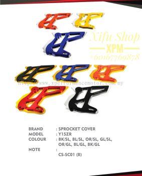 SPROCKET COVER Y15ZR PARTS CATALOG
