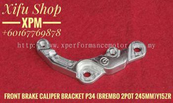 FRONT BRAKE CALIPER BRACKET P34 BREMBO 2 POT 245MM Y15ZR YT044305051 JEEE