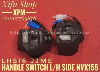 HANDLE SWITCH L/H SIDE NVX155 LHS16 AT-AHIE