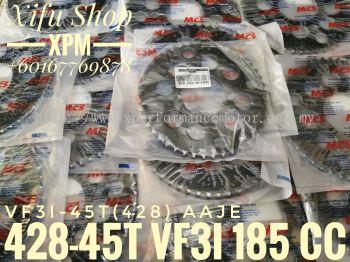 REAR SPROCKET 428X45T OTW-VF3I-45T(428) LJHE