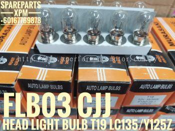 HEAD LIGHT BULB T19 12V35/35W  LC135, Y125Z, Y100, Y110SS, SRL, EX5 FLB03 EJE