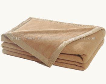 Camel Blanket:100%polyester