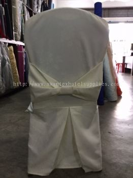 Chair Cover With Ribbon Back View