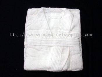 "Terry Towel Bath Robe L48"" 1kg"