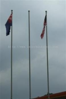 stainless steel flag post