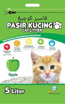 Kawan Pasir Kucing 5L Apple