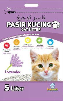 Kawan Pasir Kucing 5L Lavender