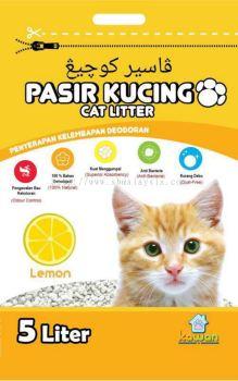 Kawan Pasir Kucing 5L Lemon