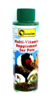 HV-01 Champion Multi-Vitamin Supplement For Pet 120ml