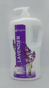 Inxpire Anti Bacterial Body Shampoo Lavender 2L