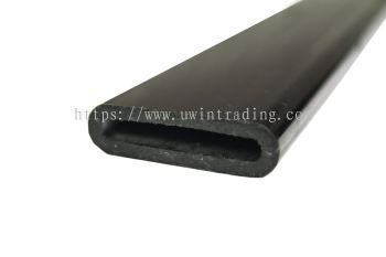 PVC Tie Sleeve (Oval) - Black