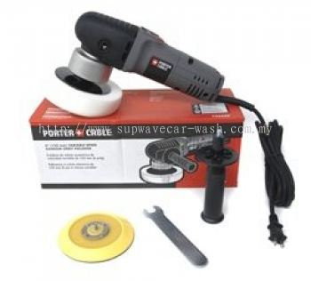 Porter Cable 7424 XP Dual Action Orbital Polisher + FREE BACKING PLATE and Accessories