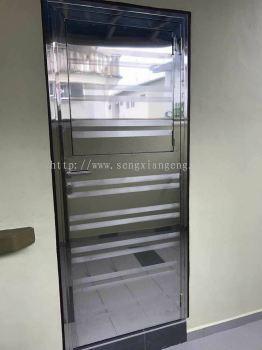 Stainless Steel Back Door