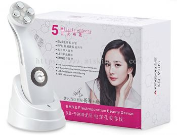 EMS & Electroporation Beauty Device 无针电穿孔美塑仪 KD-9900