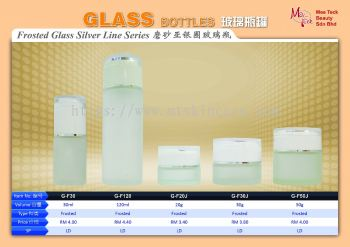 Frosted Glass Silver Line Series