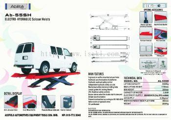 AB - 55SH Electro - Hydraulic Scissor Hoists