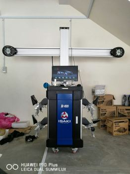 ISAKI Japan 3D Wheel Alignment R500