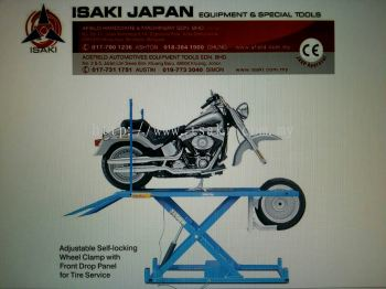 Isaki Japan Motorcycle Lift - Weight Lifting 1000kgs
