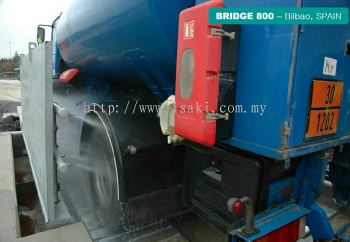 Truck Wheel Wash Machine For Construction Site.