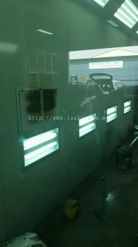 Spray Booth Oven Without Base (Infrared Burner)