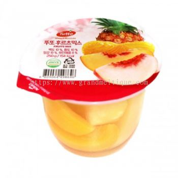 Tutto Mix Fruit Jelly 250g X 6cup
