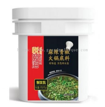 YUEYIHAI MALA & GREEN PEPPER SOUP BASE