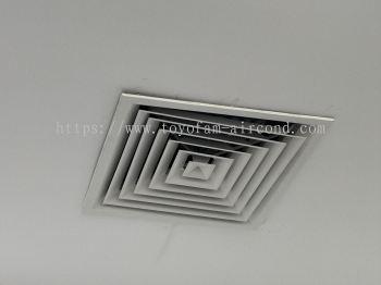 air cond air diffuser grille