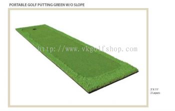 Portable Golf Putting Green Without Slope