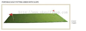 Portable Golf Putting Green with Slope