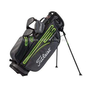 StaDry™ Waterproof Graphite/Grey/Lime Stand Bag