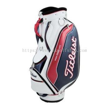 Sporty Enamel Cart Bag TB5CT591-146 TriColor