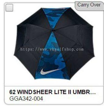 Nike Windsheer Lite Black Blue Voltage Golf umbrella