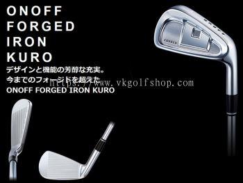 new ONOFF �� onoff �� KURO forged iron SMOOTH KICK (smooth kick) MP-717 I carbon shaft