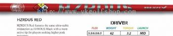 ProjectX HZRDUS Red Driver Shaft