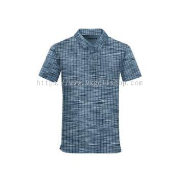 Fenix - Men's Polo Shirt - Goval - Azure Blue