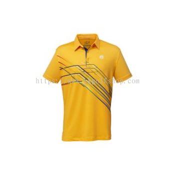 Fenix - Men's Polo Shirt - KA 22 - Mustard Yellow