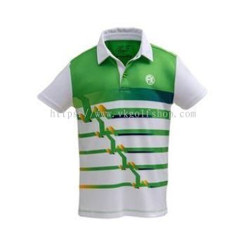 Fenix - Junior Polo Shirt - KA21 - Jasmine Green
