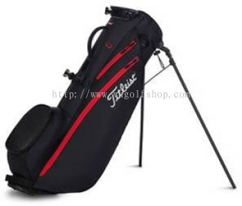 Titleist Players 4 Carbon Stand Bag Model TB20SX5-006 Color BLACK/ BLACK/ RED
