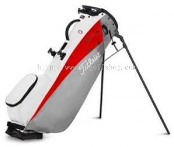 Titleist Players 4 Carbon Stand Bag GREY/ RED/ WHITE TB20SX5-261