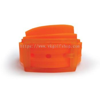 Unisex Silicone Belt - Orange/Orange