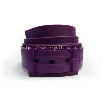 Unisex Silicone Belt - Purple/Purple