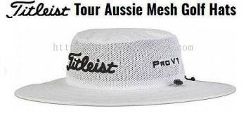 Titleist Tour Aussie Mesh Hat White Black