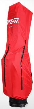PGM RED COLOR RAIN GOLF BAG COVER