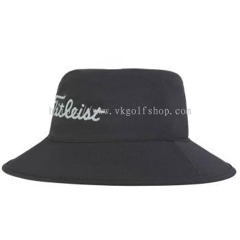 TITITLEIST STADRY PERFORMANCE BUCKET HAT BLACK