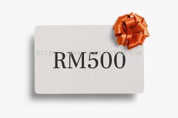 Digital Gift Card RM500 MYR (Duties and taxes included)