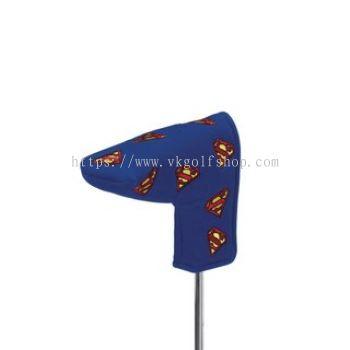 Creative Cover Superman Multi-Emblem Golf Putter Club Headcover